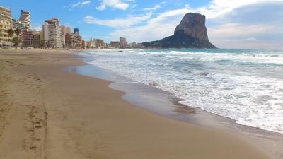 Fotos de playa arenal bol for Hoteles en calpe playa
